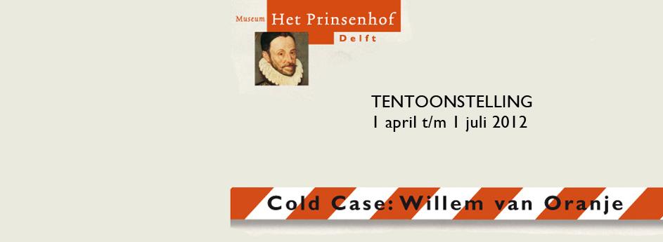 Geluidsimpressie bij 'Cold case: Willem van Oranje'
