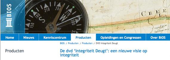 DVD Integriteit deugt