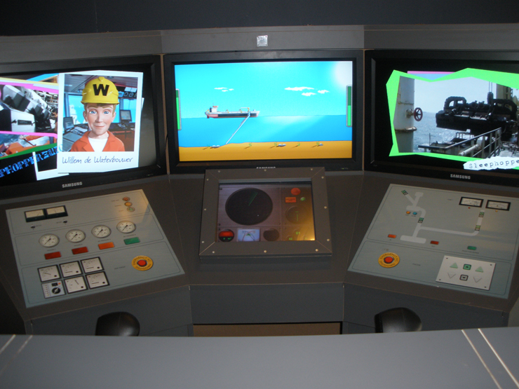 Persbericht: Nieuw in het Nationaal Baggermuseum: De Baggerexperience