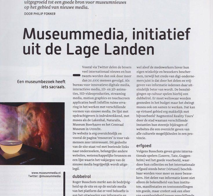 Museummedia in Museumtijdschrift