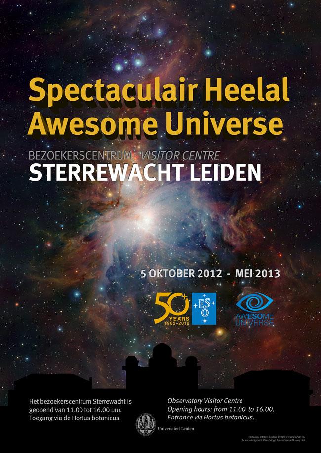 Poster Spectaculair Heelal (Infofilm/Museummedia)