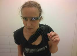 Gluren met Google Glass