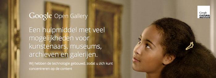 Google stelt Open Gallery voor iedereen beschikbaar