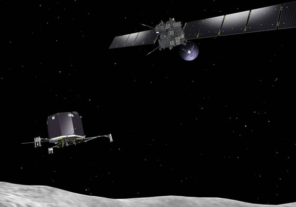 Ga mee op ruimtereis met Rosetta
