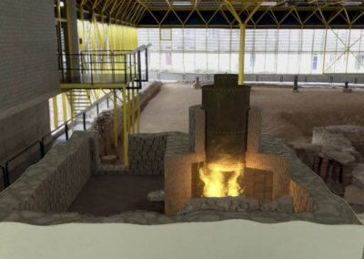 Romeinse thermen van 2000 jaar oud herrijzen uit de grond