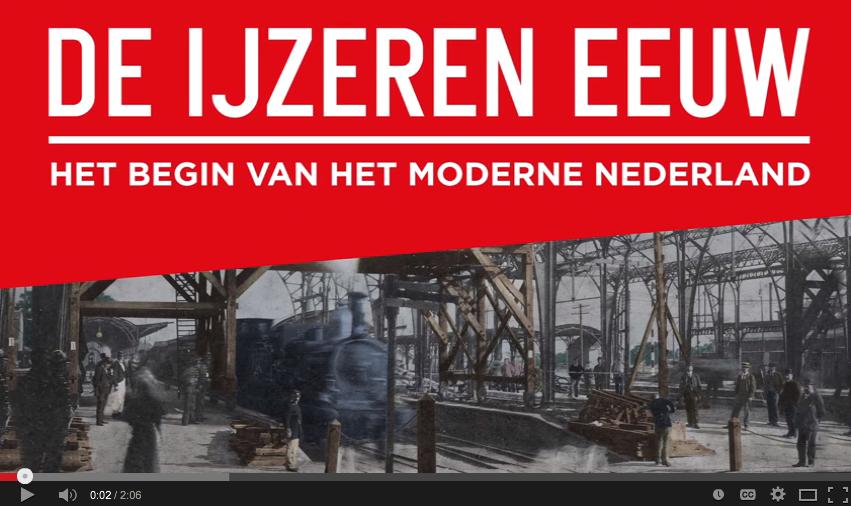 IJzeren Eeuw in Amsterdam Museum