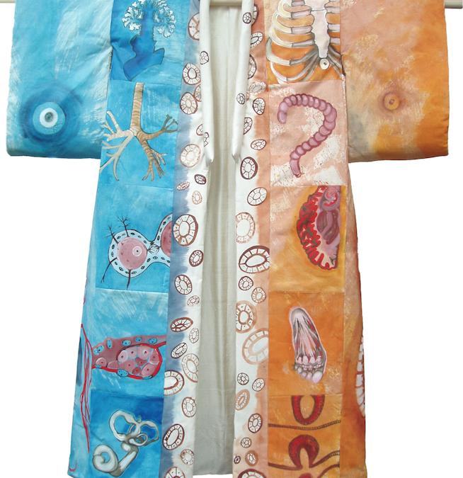 Kimono's van Mieke de Waal in Japanmuseum