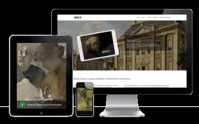 Webdesign: musea.tv
