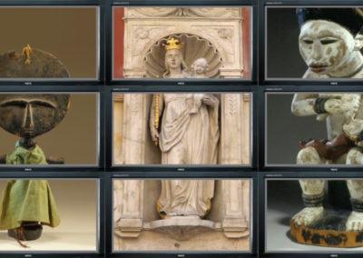 Video-wall voor Afrika Museum