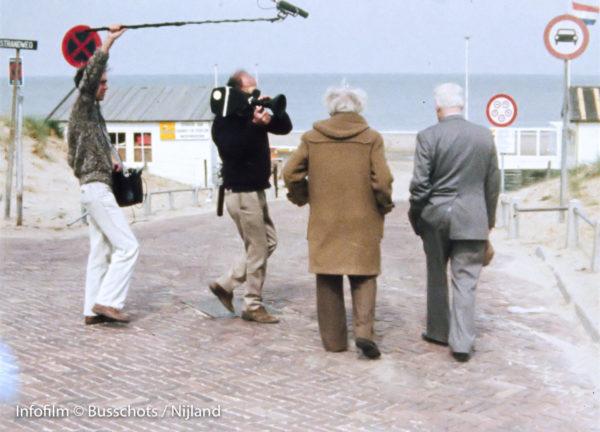 Team 1 Robert en Rouch filmen Ivens Storck