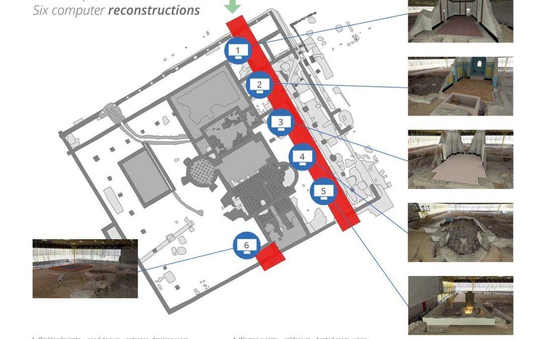 Stagiaires Infofilm/Museummedia doen publieksonderzoek in het Thermenmuseum in Heerlen