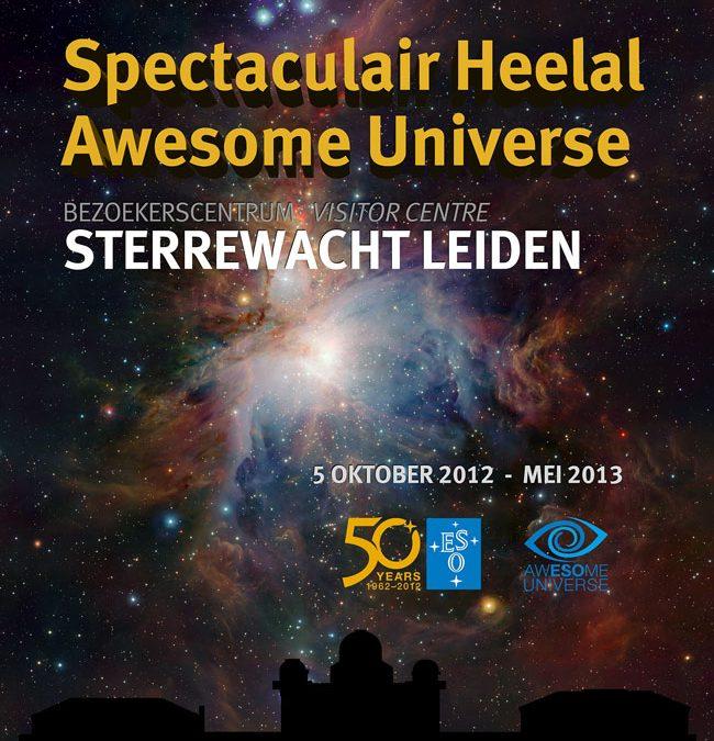 Inrichting nieuwe expo 'Spectaculair heelal'